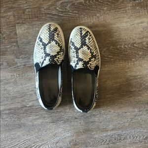 Vince snake sneakers